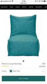 Next Large Lounge modular beanbags