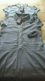 2 age 13-14 school summer dresses