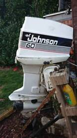 Johnson outboard 60hp Power tilt and trim