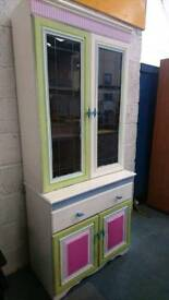 white display cabinet perfect upcylce opportunitie - Delivery Available