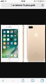 Brand new 2 months old iPhone 7s plus on EE