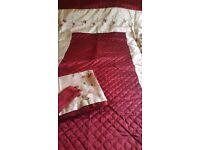 Dunelm Single Matching Bedspread/Duvet/Curtains - Bargain!
