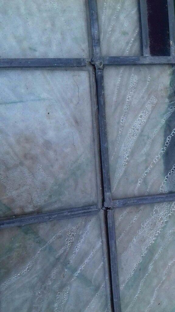 Leaded Coloured Glass Window