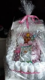 Nappy cakes various styles and colours will take orders