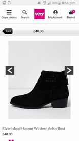New river island boots size 6