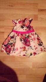 Ted Baker 6-9mths flower dress