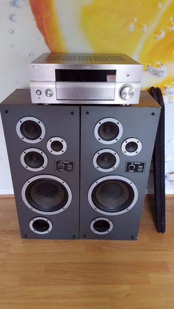 Vintage Loudspeakers Wharfedale W Series MODEL W.50