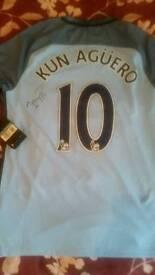 Signed kun augero shirt