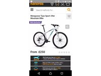 Mongoose tyax sport 29er mountain bike