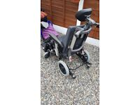 wheelchair Ibis pro tilt and adjustable. Max weight 160kg