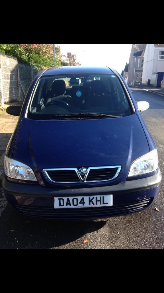 Vauxhall Zafira 2.0 life DTI