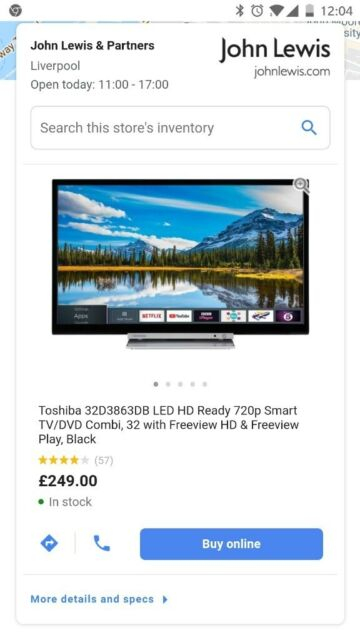 New Toshiba 32 inch Smart HD TV, DVD player, WiFi & FreeView builtin   in  Liverpool City Centre, Merseyside   Gumtree