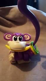 Chasing cheeky monkey game.