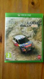 Xbox One Sebastien Loeb Rally Evo