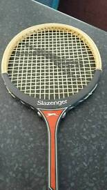 Slazenger vintage squash The Dart racket