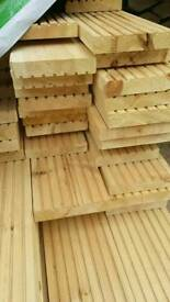 27mm x 145mm Untreated Decking