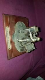 Figurine - leonardo the clockmaker