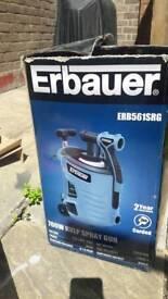 Erbauer spray gun and titan concret breaker