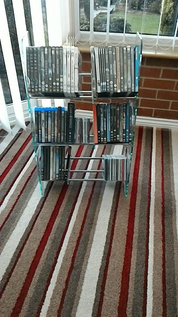 DVD / CD/GAMES STORAGE UNIT
