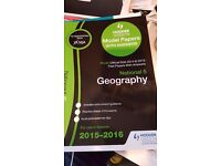 SQA National 5 Geography Past Papers 2015-2016