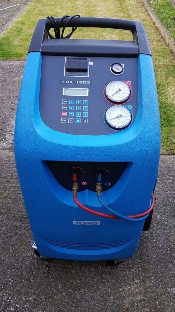 Ecotechnics Eck 1800 Professional Aircon Regas Machine