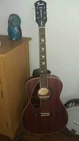 Left handed Fender Electro acoustic guitar (Left handed)