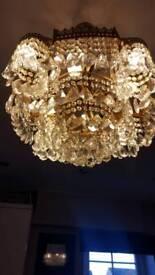 Crystal chandalier