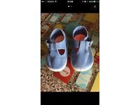Baby girls pumps size 1 and 2