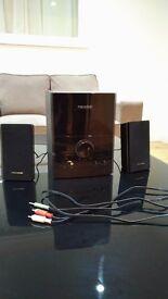 "32"" Philips TV (Slim LED TV) with subwoofer speaker system. Semi-new!"