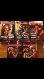 5 x Mills & Boon Romantic Suspense Books ~ Coltons