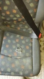 Mercedes Vito Dualiner Rear Seats ~ One set of 2 + 1 Folding