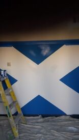 Grm painters and decorators get all painted up before Christmas comes