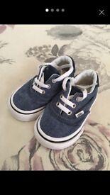 Infant Vans size 4