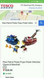 Paw Patrol Pirate's