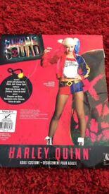 Harley Quinn ladies fancy dress 8-10