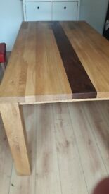 Dining table £50