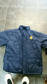 Manchester United jacket from old Trafford shop