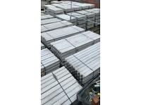 8Ft Concrete Reinforced Garden Fencing Posts ~ New