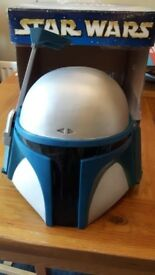 Star Wars Jango Fett Collector Helmet Mask - Adult One Size