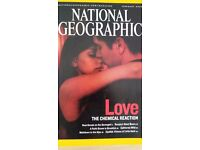 National Geographic magazines x 12 1996