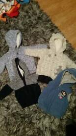 Baby jackets 0-3 months