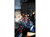 For sale some petrol chainsaws lawnmowers, hedge cutters, strimmers