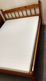 Ikea double size mattress. 140x200 cm. Impeccable condition. It needs gone on 27th