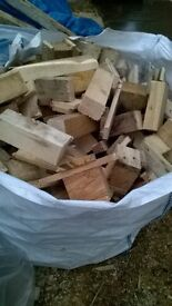 1 tone ful bag off fire wood for sale £45 free local delivery