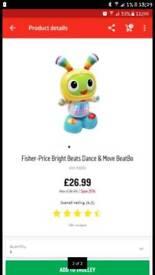 Fisher price beat bo toy