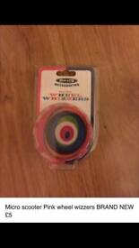 Micro scooter wheel whizzers BRAND NEW