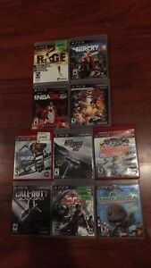 Bundle of PS3 games or can be sold individually
