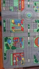 Child's Road mat