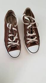 Converse All Star brown size 5