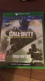 Call of duty infinite ware fare Legacy Edition